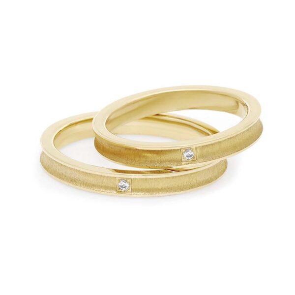 fede matrimonio comete oro giallo e diamante
