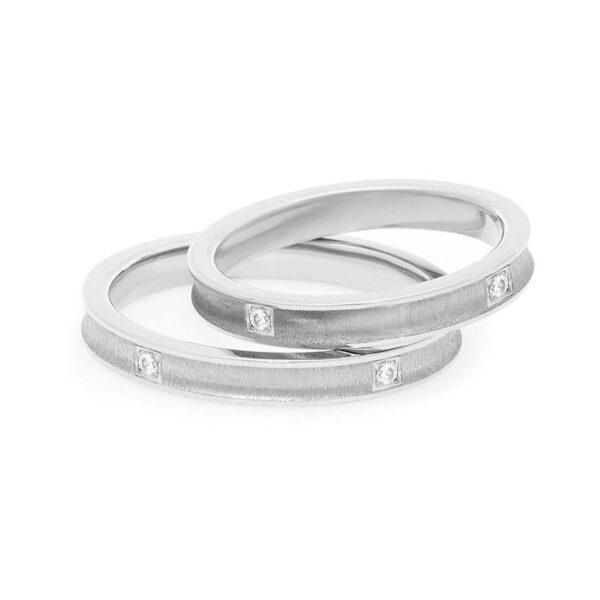 fede matrimonio comete platino e diamanti