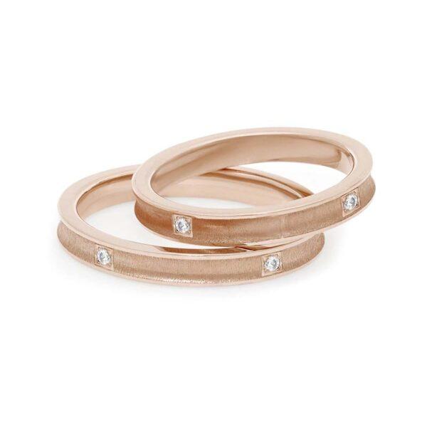 fede matrimonio comete oro rosae diamaint