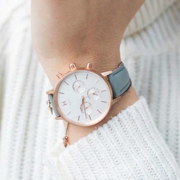 orologio donna pelle minimal MVMT