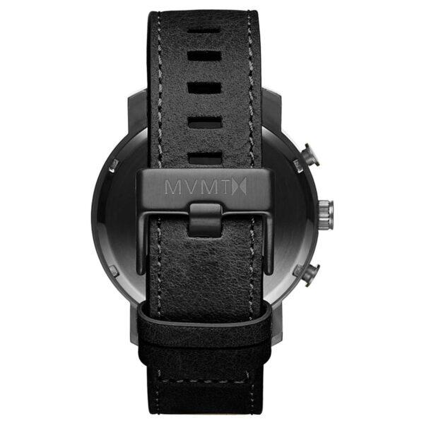 cronografo minimal nero