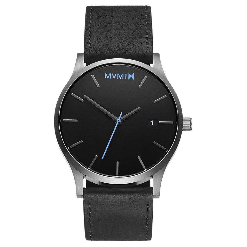 orologio minimal lancetta azzurra