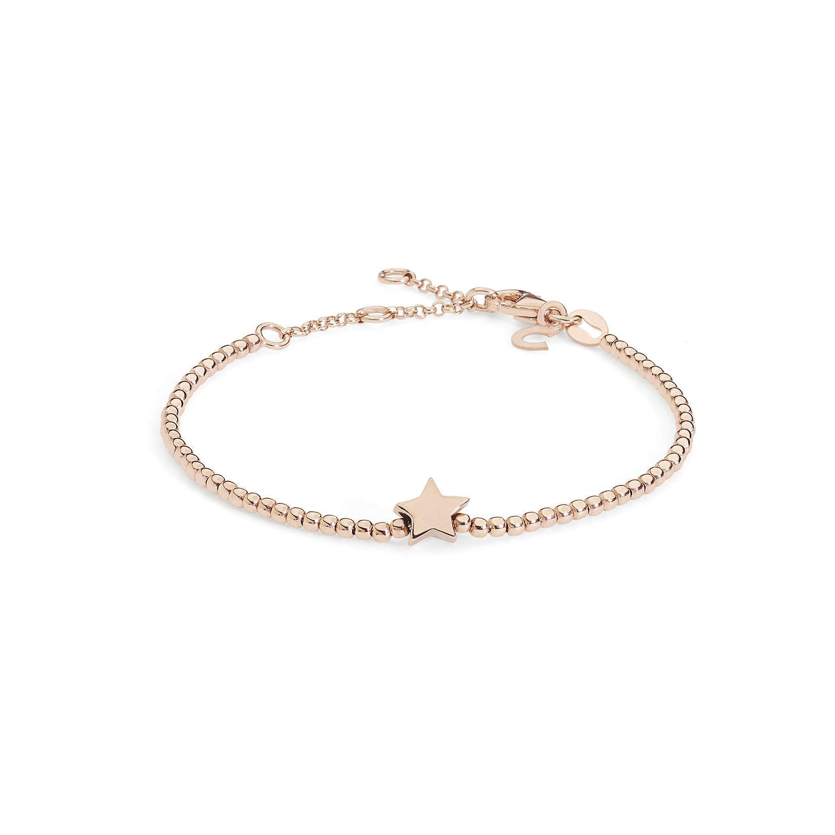 bracciale comete donna stella argento rosato