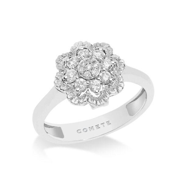anello comete oro diamanti fiore mille e una notte trasformabile