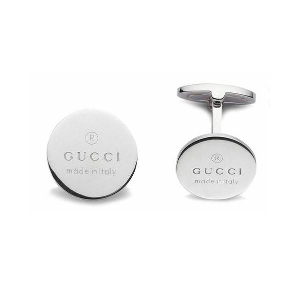 gemelli gucci trademark argento