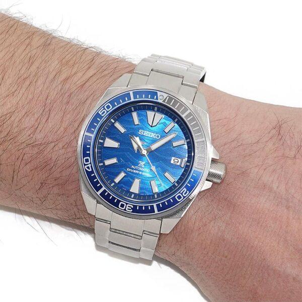 orologio automatico sub blu seiko