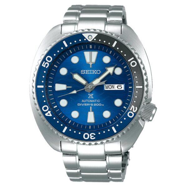 orologio subacqueo professionale blu seiko turtle