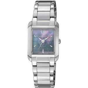 orologio citizen donna acciaio rettangolare quadrante madreperla