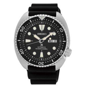 orologio seiko subacqueo nero gomma