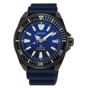 orologio subacqueo professionale seiko nero gomma