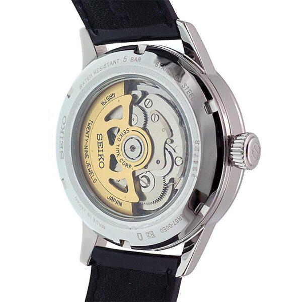 orologio elegante seiko presage azzurro
