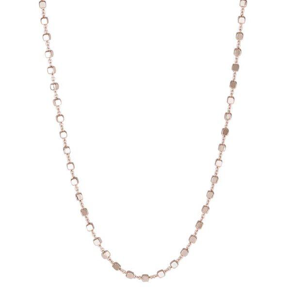 collana rosato gioielli storie argento rosa componibile cubetti cubi