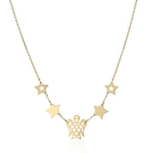 collana giannotti oro giallo stelle angelo