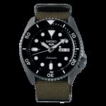 orologio automatico seiko tipo rolex cinturino stoffa