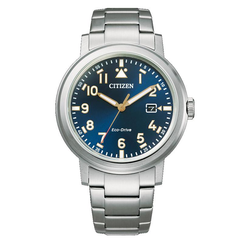 orologio citizen uomo quadrante blu