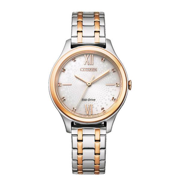 orologio citizen donna bicolor argento oro