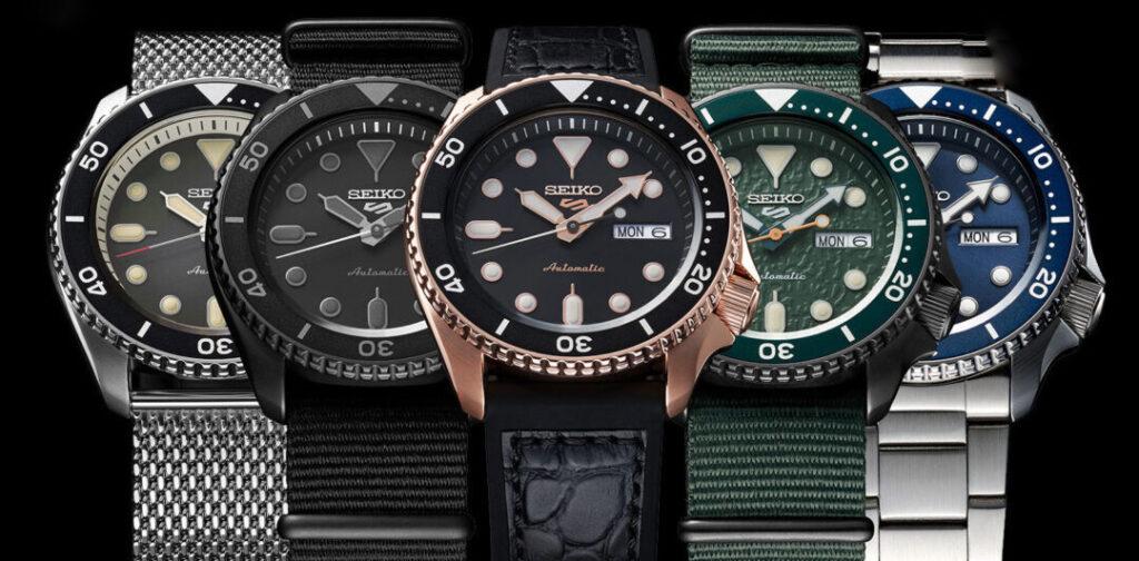 foto-seiko-5-anteprima-orologi-automatici-novità-gioielleria-baravelli