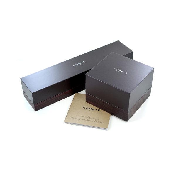 scatola comete uomo
