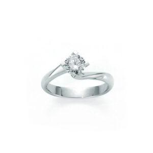 anello solitario miluna diamante 20 ct