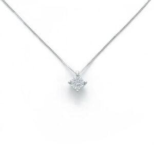 collana miluna puntoluce composto diamanti
