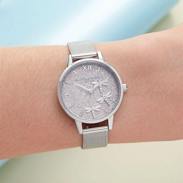 orologio donna minimal acciaio