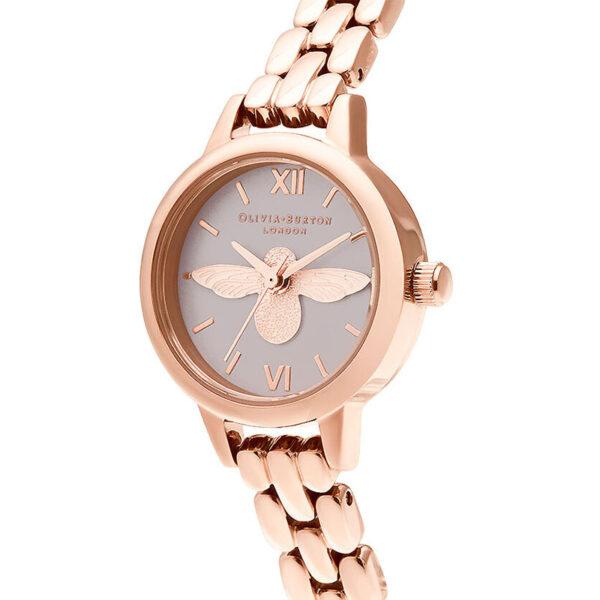 orologio piccolo donna oro rosa con ape