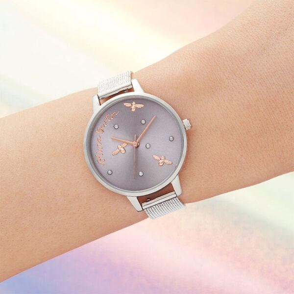 orologio donna semplice in acciaio