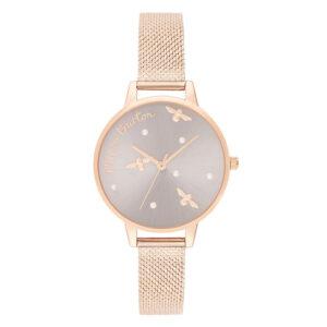 orologio donna con api e perline