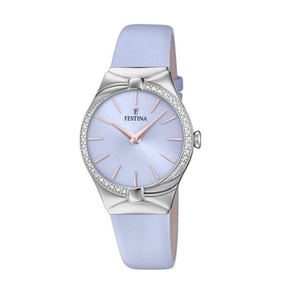 orologio festina donna quadrante lilla pelle