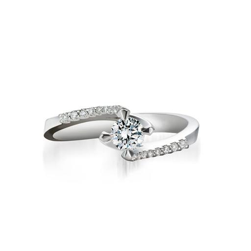 anello solitario diamante bibigì valentino