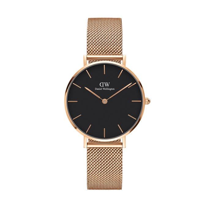 orologio dw oro rosa nero 32