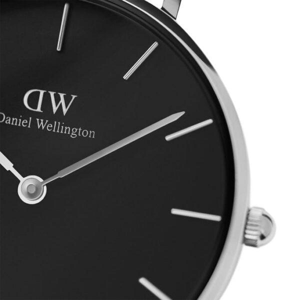 quadrante nero argento dw