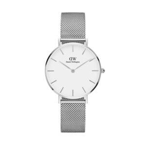 orologio dw argento bianco 32 petite silver