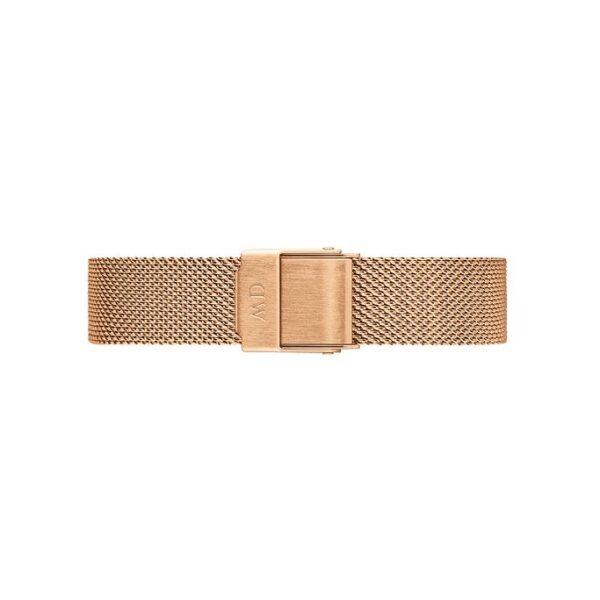 cinturino dw oro rosa maglia milano 28