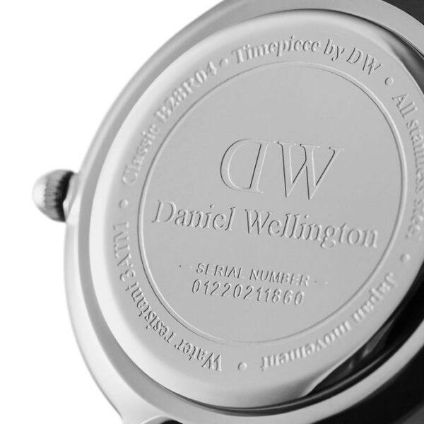 cassa orologio dw argento 28