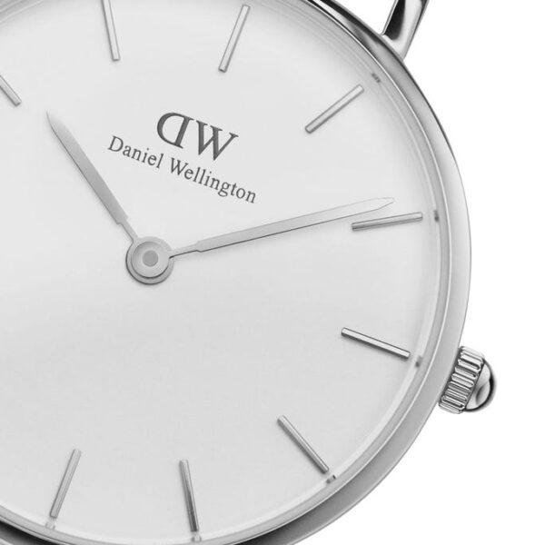 quadrante bianco orologio dw argento 28