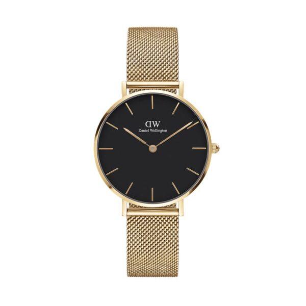 orologio dw petite evergold 32 quadrante nero