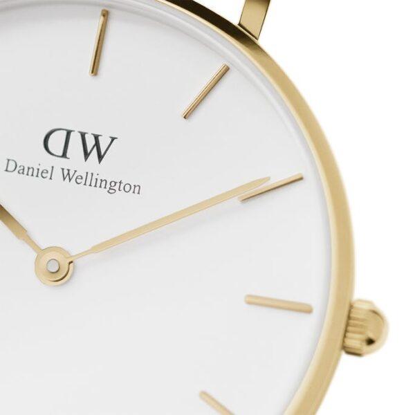 quadrante dw bianco oro 32
