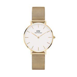 orologio dw 32 petite evergold bianco oro