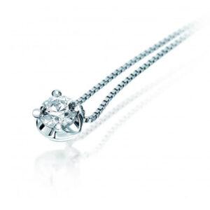 collana punto luce bibigì corona diamante