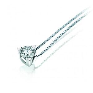 collana punto luce bibigì diamante