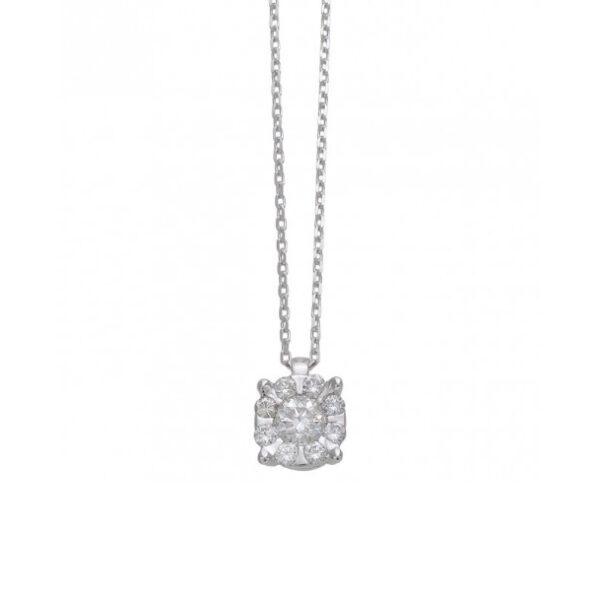 collana punto luce composto bibigì diamanti