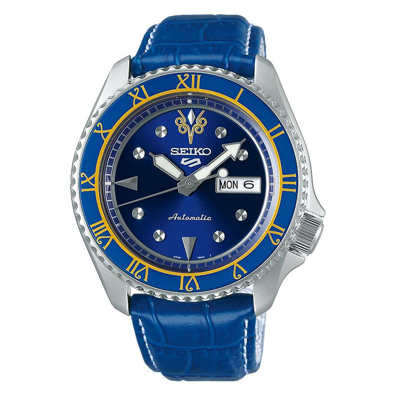 orologio seiko street fighter chun li blu edizione limitata