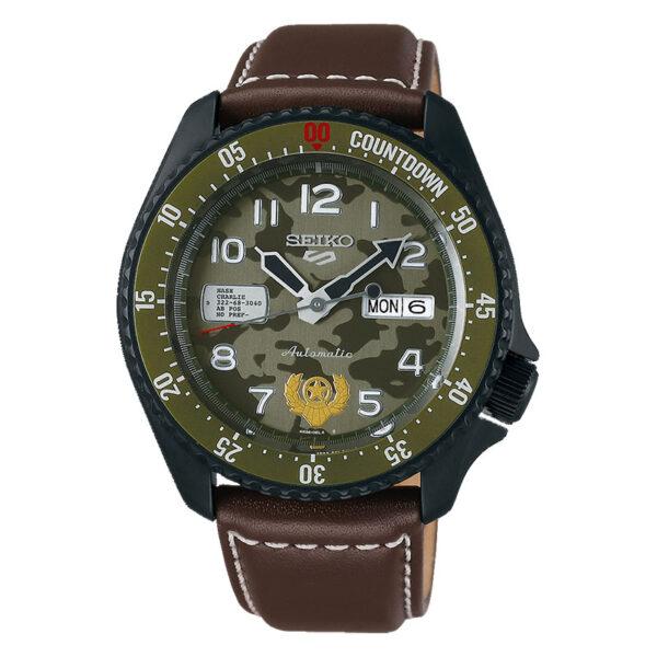 orologio seiko street fighter guile militare