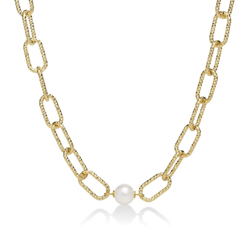 collana catena grossa miluna miss italia 2020 oro