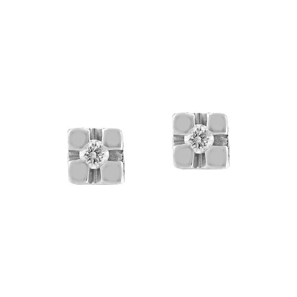 orecchini oro economico diamante naturale