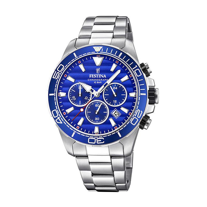 orologio festina uomo chrono blu