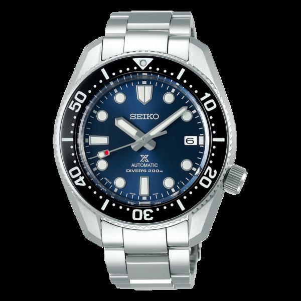 orologio uomo automatico subacqueo blu