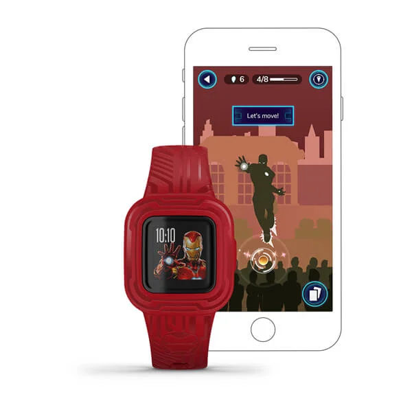 orologio smartwatch per bambino rosso