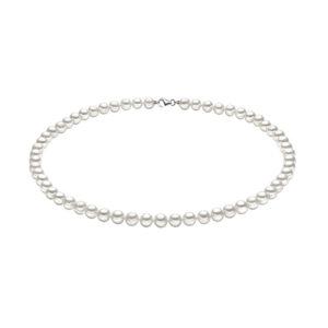 collana filo di perle comete gioielli perle bianche